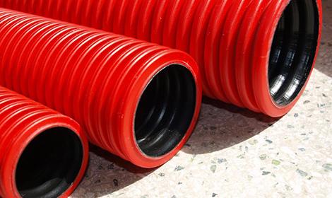 Трубы для прокладки кабеля